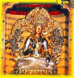 Серебряный Будда. Потала. Тибет