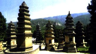 Кладбище монахов Шаолиня
